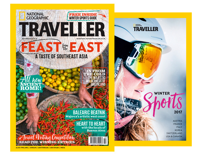 Top National Geographic Traveller (UK) October 2017 Available On  UJ74