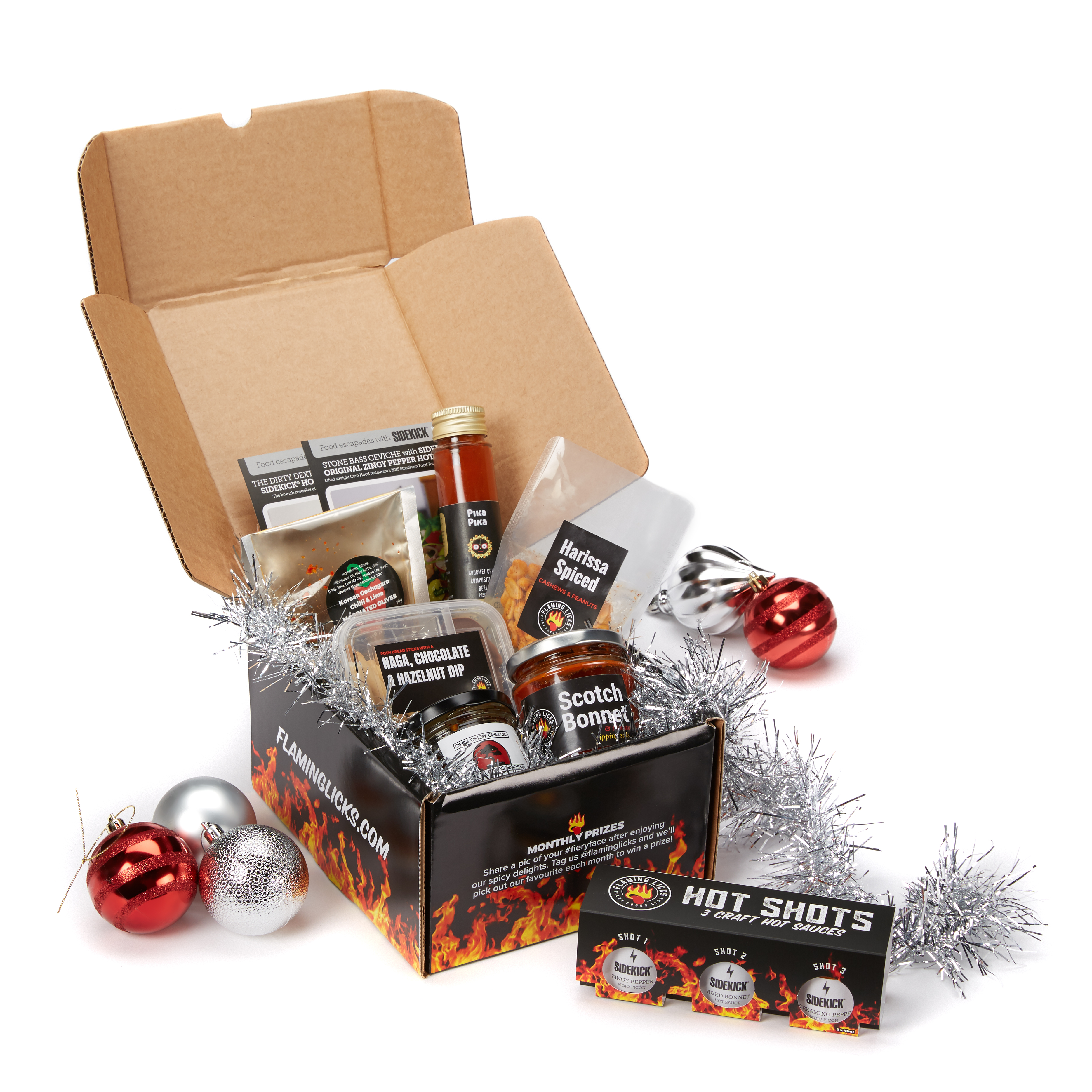 FIERY CHRISTMAS FOODIE GIFTS FROM FLAMING LICKS!