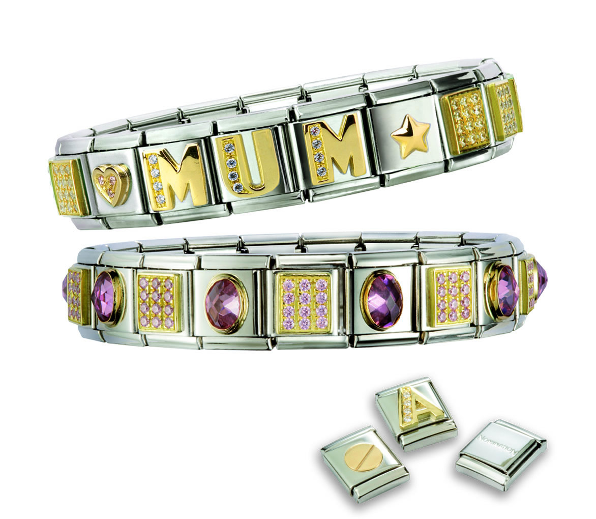 Make Your Mother s Day with a Personalised Bracelet from Nomination ec844520a