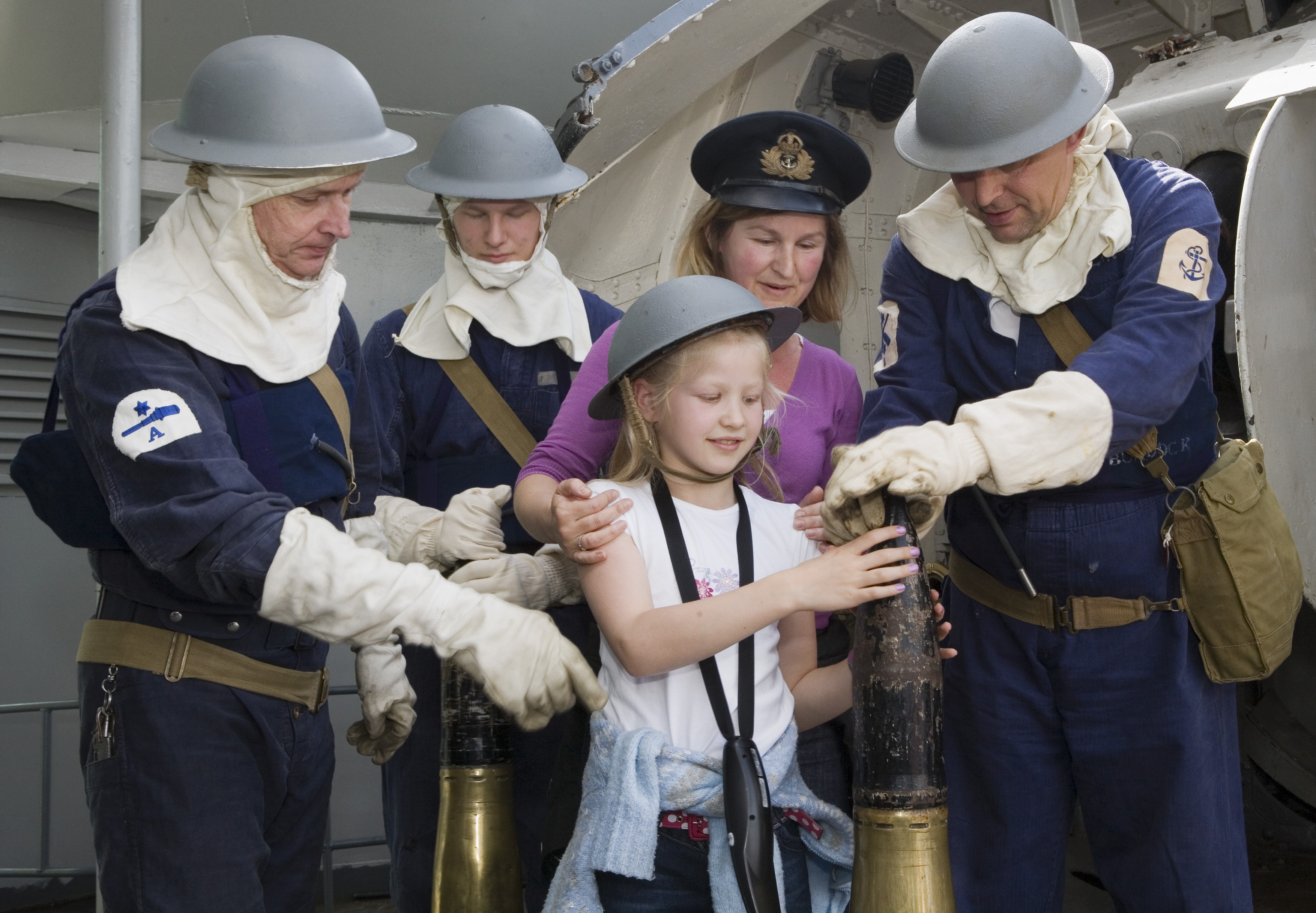 65th Anniversary Of D Day Remembered Onboard HMS Belfast With Dramatic Family Activities