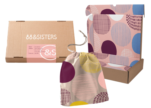 &SISTERS customised subscription box