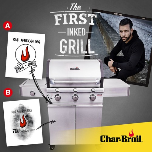 Char-Broil - The first 'inked' grill
