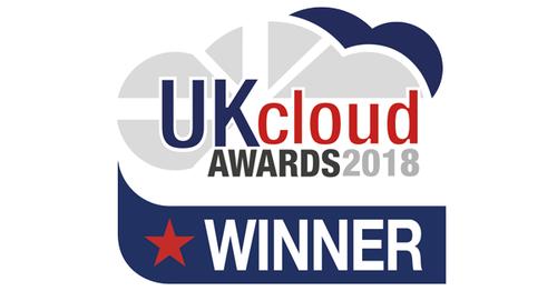 UK Cloud Award 2018 Winner