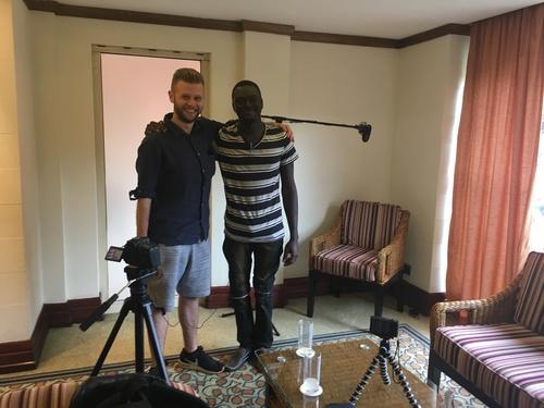 Luke Pembroke in Africa 2