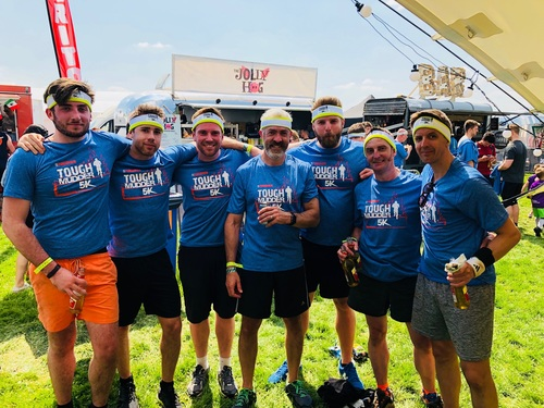 The PKL Tough Mudder Team
