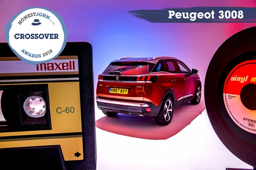 PEUGEOT 3008 SUV CROSSOVER OF THE YEAR
