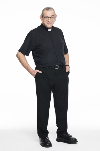 Father Paul Lomas after weight loss