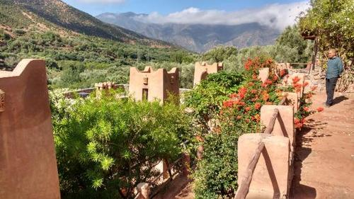 Stunning views from NYBC Kasbah