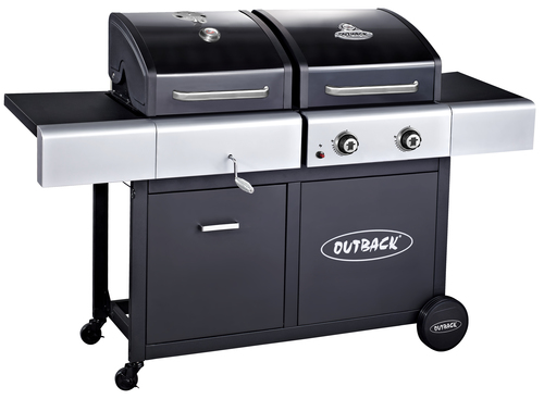 Outback Dual Fuel Gas &amp Charcoal BBQ