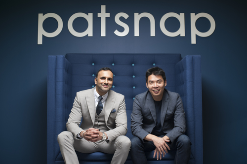 Jeffrey Tiong and Ray Chohan of PatSnap