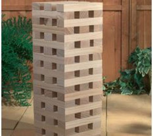 The Giant Garden Tower Block Set