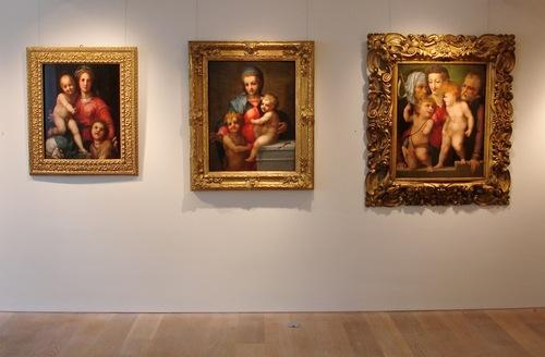 3 Madonnas from Italian Renaissance