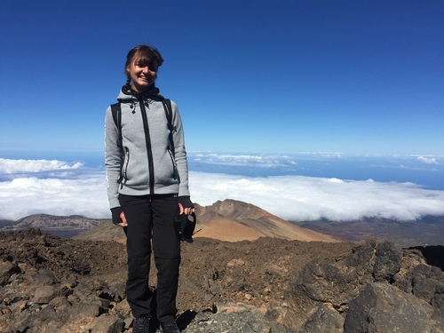 Stood on a volcano