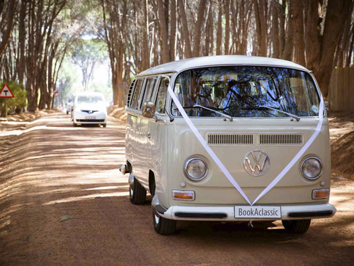 VW Camper Van booked through Oswald
