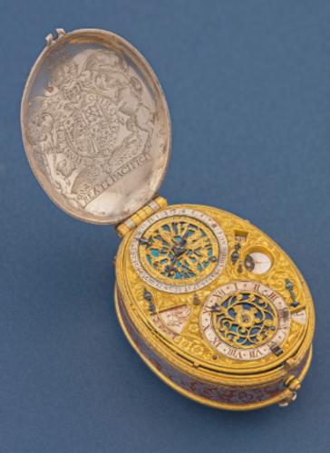 David Ramsay Astronomical Silver &amp Gilt
