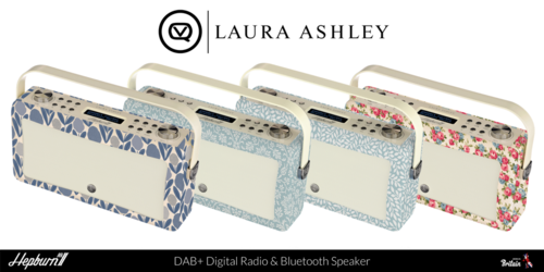 VQ & Laura Ashley Digital Radio Range