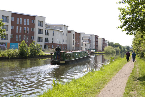 Canalside living at The Bridge, Timperly