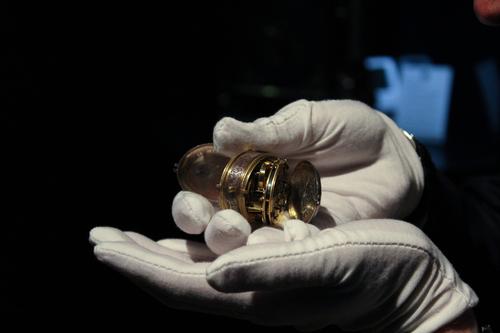 Watchmaker studies Royal Ramsay Watch