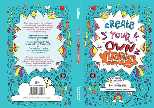 Create Your Own Happy Book Jacket