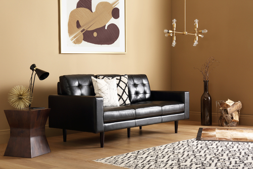 Carlton Black Sofa - &pound399.99