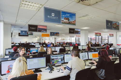 Main Contact Centre Floor at Ventrica