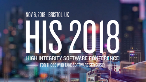 High Integrity Software Conference