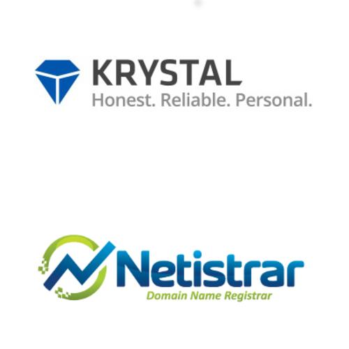 Krystal Hosting & Netistrar partnership