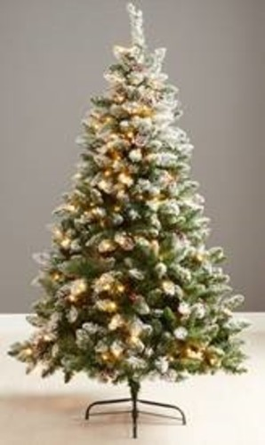 Blenheim Frosted Pre-Lit 6ft Tree