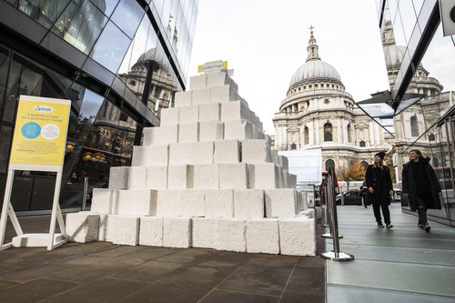 Splenda Sugar Pyramid