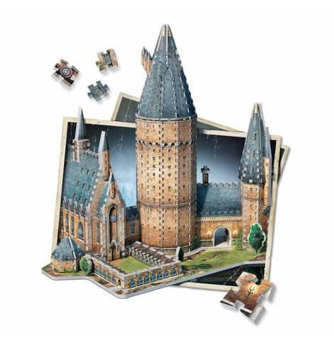 Wrebbit 3D Hogwarts Great Hall Jigsaw