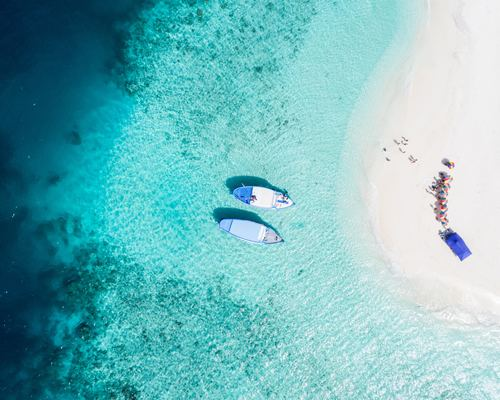 Aerial Beach Picture