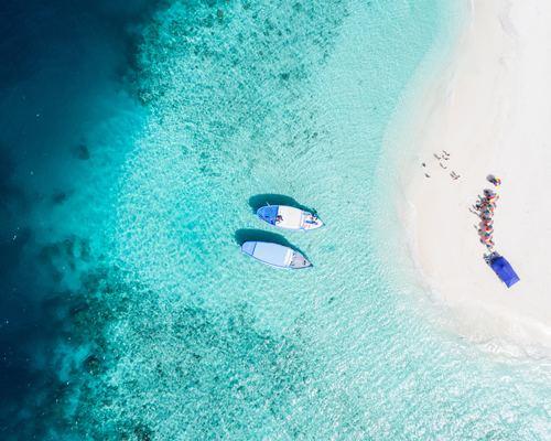 Aerial Beach Picture