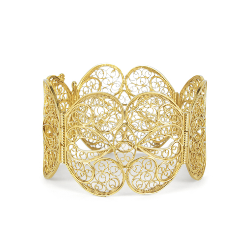Filigree Butterfly Bangle