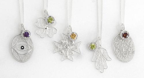 Amulets of Harmony Filigree Necklace