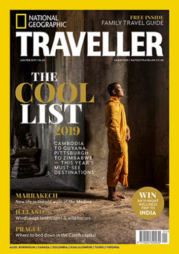 Nat Geo Traveller Cool List 2019