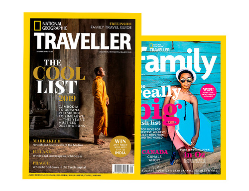 Nat Geo Traveller (UK) Jan/Feb 2019