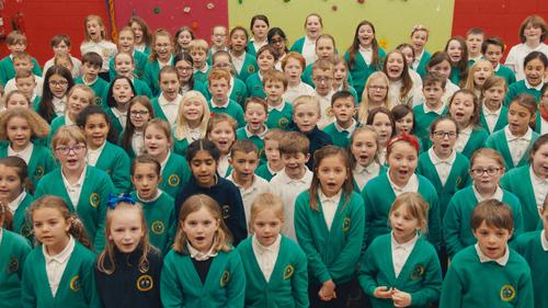 Children at Thornhill Primary School
