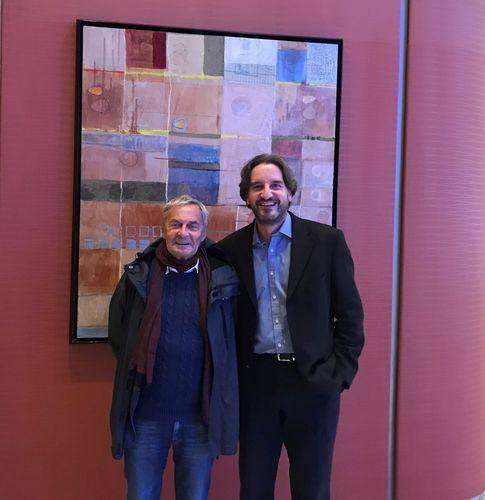 Erno Rubik with Christoph Bettin