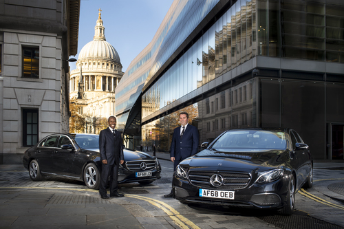 Chauffeurs in London