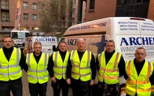 Archer Window Cleaning team 2019