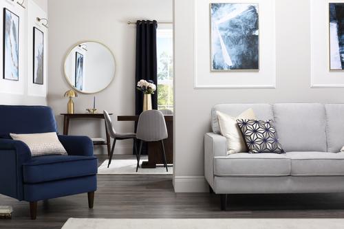 Albion Dove Grey Sofa - &pound499.99