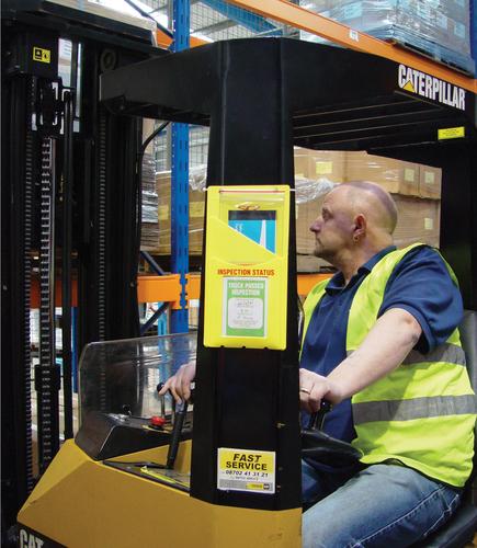 Safe-truck improves fork lift safety