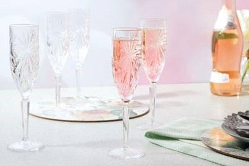 RCR Oasis 6-Piece Champagne Glasses