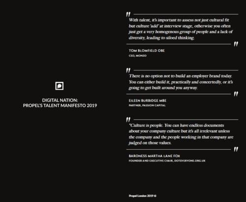 Digital Nation: Propel'sTalentManifesto