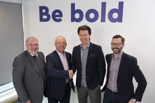 Hermes and GMB in Groundbreaking Deal