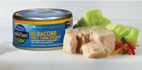 Wildly good tasting Albacore tuna!