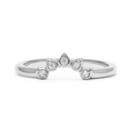 Arabel Lebrusan Teardrop Diamond