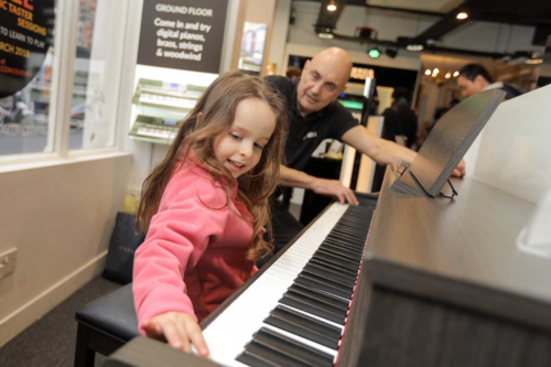 Learn to Play Day at Yamaha Music London
