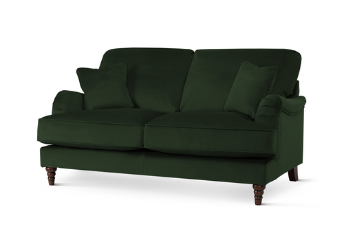 Charleston Green Velvet Sofa - &pound649.99