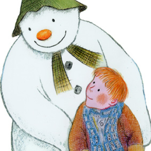 Raymond Briggs The Snowman has landed at Green Eyed